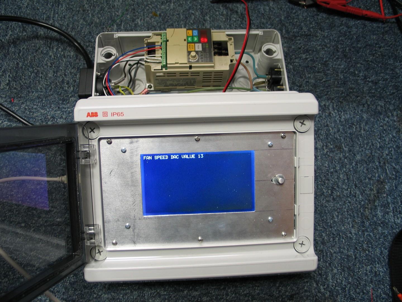 DMX AC fan speed control + 4 bulb dimmer + 3 fog machines